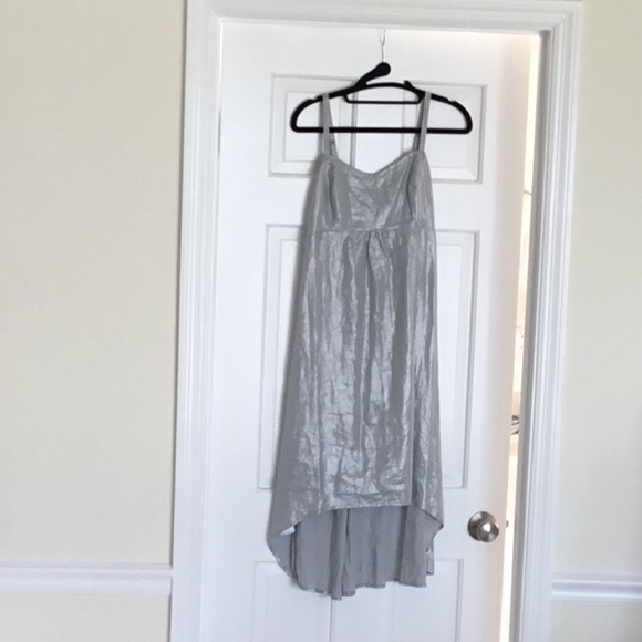 Tommy Bahama Dresses & Skirts - Tommy Bahama silver metallic linen dress. Small